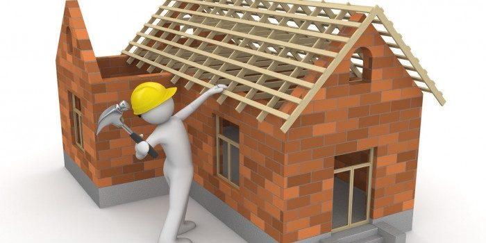 Allarme per casa in costruzione