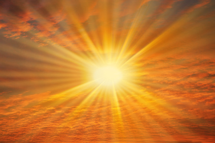 Interferenza raggi solari