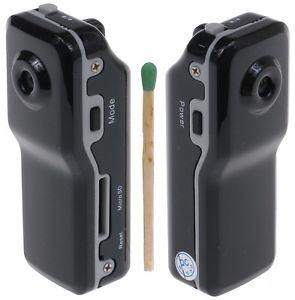 Mini telecamere: DVR e scheda SD