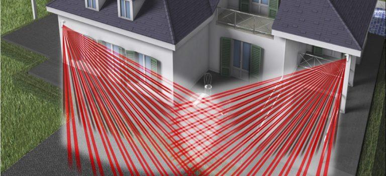 Installazione allarmi perimetrali: barriere infrarosso e rilevatori a tenda
