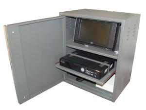 Proteggere il DVR con un armadietto